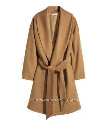 Шерстяное пальто H&M в наличии 36 38 40