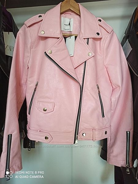 Байкерская куртка косуха MANGO большой выбор
