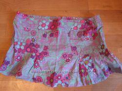 Пляжная коротенькая мини юбочка E-vie Размер 14 английский