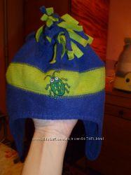 Шапка і рукавиці НАБІР 12-18 міс фліс