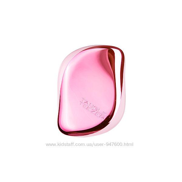 Расческа Tangle Teezer Compact Styler Baby Doll Pink Chrome оригинал