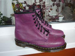 Кожаные сапоги берцы ботинки бренда Dr. Martens Производство Тайланд
