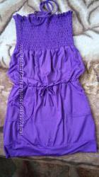 Красивое платье сарафан модным мамочкам