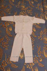Продам новый ажурный белоснежный костюм ТМ Лютик