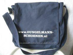 Сумка портфель мужская синяя Dungel