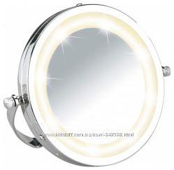 Настольное косметическое зеркало с подсветкой