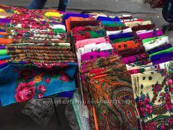 Платки, платочная ткань, траурные платки