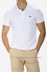 Мужское поло Lacoste Slim Fit все размеры, качество 1 в 1