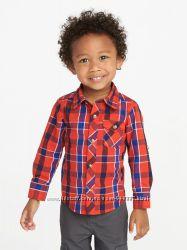 Фирменная рубашка Olb Navy на 4 года