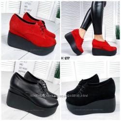 Туфли на шнурках INFINITY