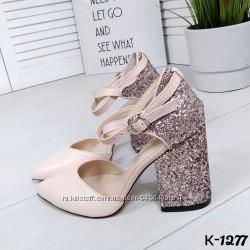 Шикарные туфли Kamila  материал верх-натуральная кожа