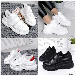 Стильные кроссовки на меху - Casual