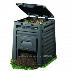 Компостер садовый E-Composter 320 л, 470 л, 650 л Keter Израиль, пластик