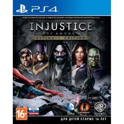 Диск Injustice Лицензия для PS4