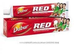 Зубная паста Dabur Red. Бесплатная доставка