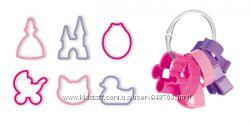 Формочки для девочек Tescoma DELICIA KIDS, набор 6шт