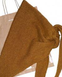 Стильный шарф-косынка