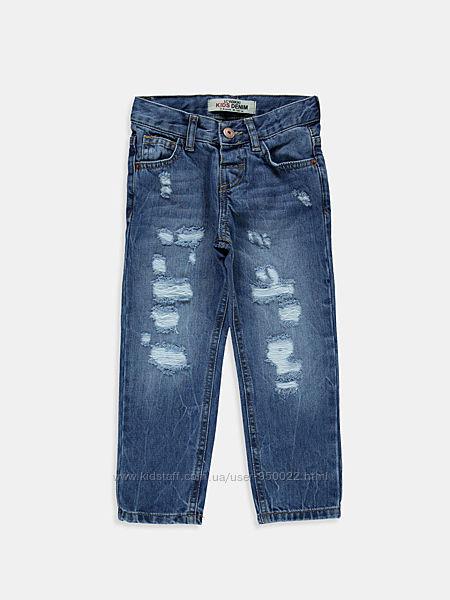 Новые джинсы на мальчика LC Waikiki 7-8лет