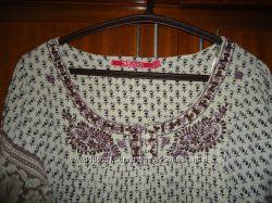 В идеальном состоянии оригинальное платье туника Индия М
