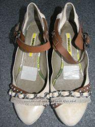 Женские кожаные туфли Manas Design р. 39