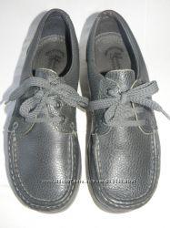 Женские кожаные туфли-мокасины  р. 39 дл. ст 25, 3см