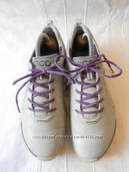 Кожаные кроссовки для гольфа Ecco biom natural motion hydro max р. 37