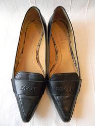 Остроносые лоферы туфли кожаные от Marc O&acutePolo р.37