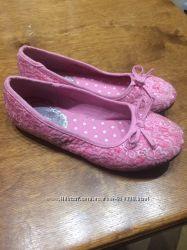 Красивые туфли-лодочки для девочки Graceland Германия, р. 34