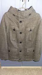Утепленное зимнее пальто ZARA