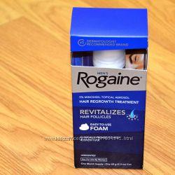 Rogaine Foam  Пена Регейн 5 миноксидил Minoxidil. Оригинальная из США