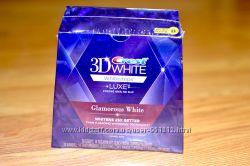 Полоски Crest 3D White Whitestrips Glamorous White упаковка 28шт  ПОДАРОК