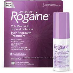 Регейн в виде жидкости 2 миноксидил Rogaine для женщин, оригинальный NEW
