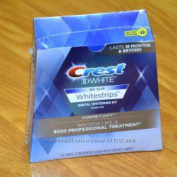 NEW Crest 3D White Whitestrips Supreme FlexFit полоски из США