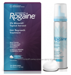 Регейн Rogaine пена 5 миноксидил для женщин, 60мл на 2мес. Оригинал из США