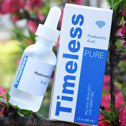 Гиалуроновая кислота Timeless. Hyaluronic acid, оригинал из США. 1oz - 30ml