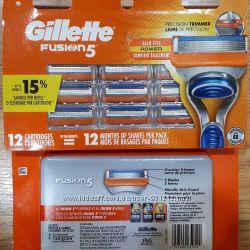 Картриджи Gillette Fusion 5 США оригинальные лезвия, кассеты для бритья