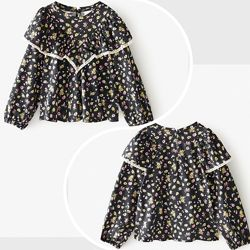 Красива блузочка в квітковий принт від Zara Іспанія