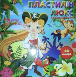 Пластилин и пластилиновая паста Гамма, Незнайка, Little President Люкс
