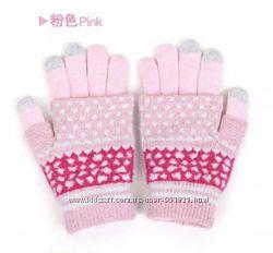 Новые перчатки и митенки