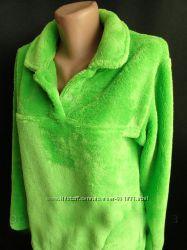 Женская махровая пижама на молнии и без M L XL 2XL 3XL
