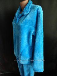 Женская пижама махровая в расцветках всех размеров