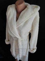 Женскй теплый махровый халат 42-44-46
