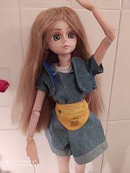 Парик для куклы БЖД BJD. 60 см