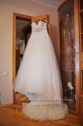 Продам свадебное платье бу