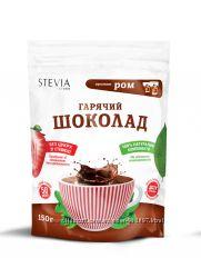 Бодрящий горячий шоколад со стевией и обезжиренным какао