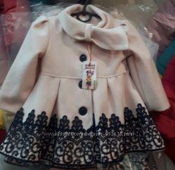 Пальто  для девочек р. 92-110