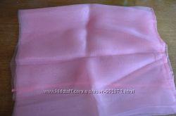 остатки отрезы ткани тюль, органза ч. 2