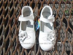 Кожаные, нежные туфельки 26-30рр в наличии