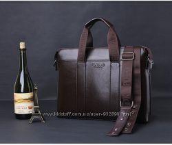 Стильный кожаный портфель в наличии Polo