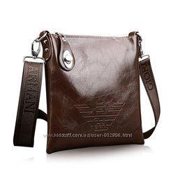Стильная мужская сумка Armani в наличии